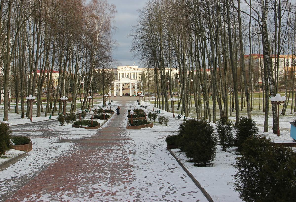 Маладзечанскі парк зараз