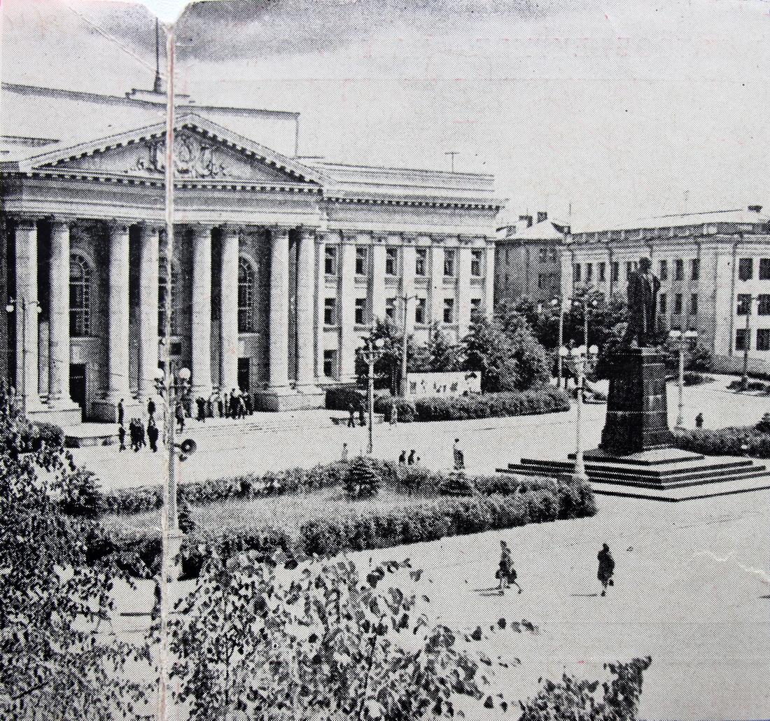 Цэнтральная плошча, 1960-я