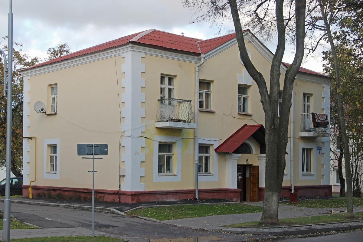 Дом №3 па вул.Машэрава