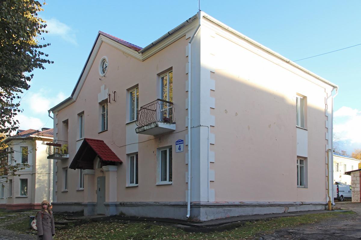 Дом №4 па вул.Маркава