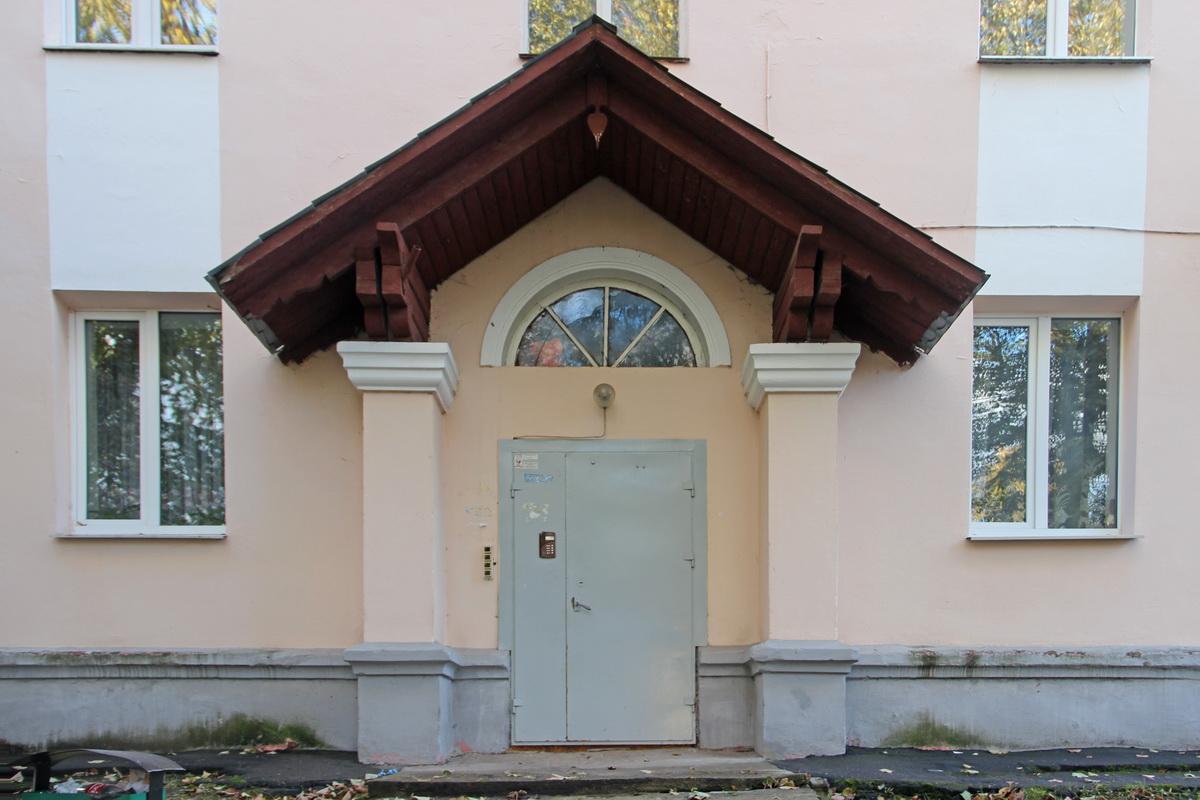 Ганак дома №4 па вул.Маркава