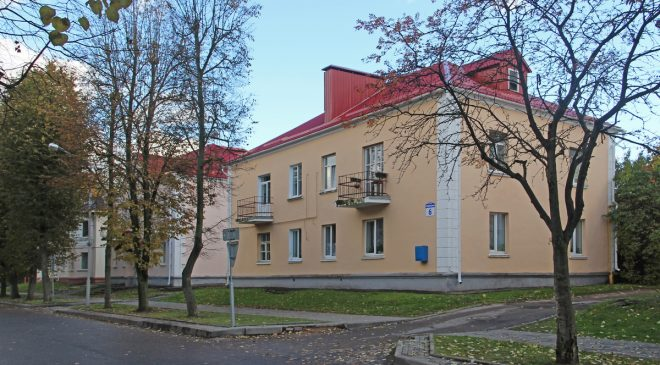 Дом №6 па вул.Маркава