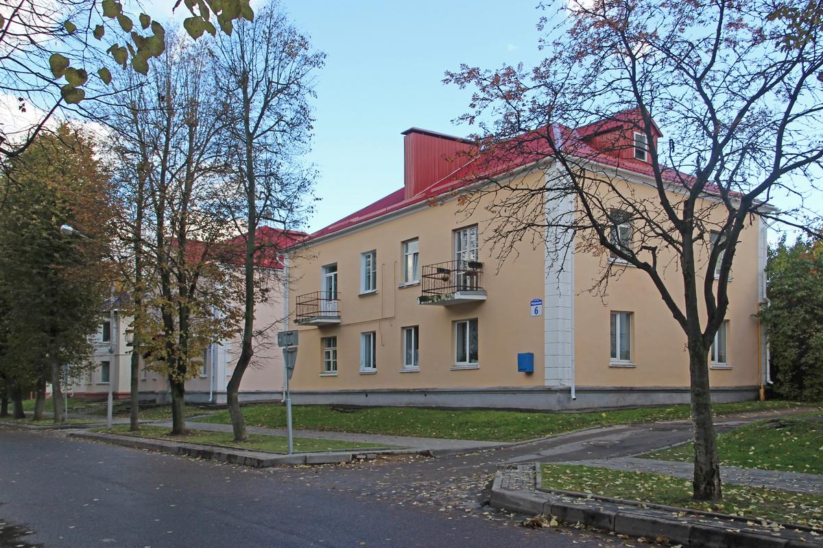 Дом №6 па вул.Машэрава