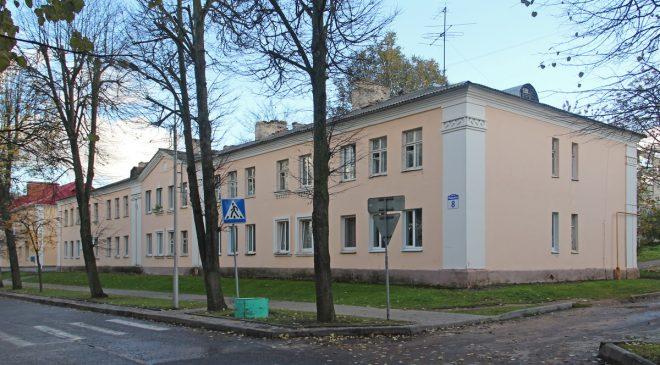 Дом №8 па вул.Маркава