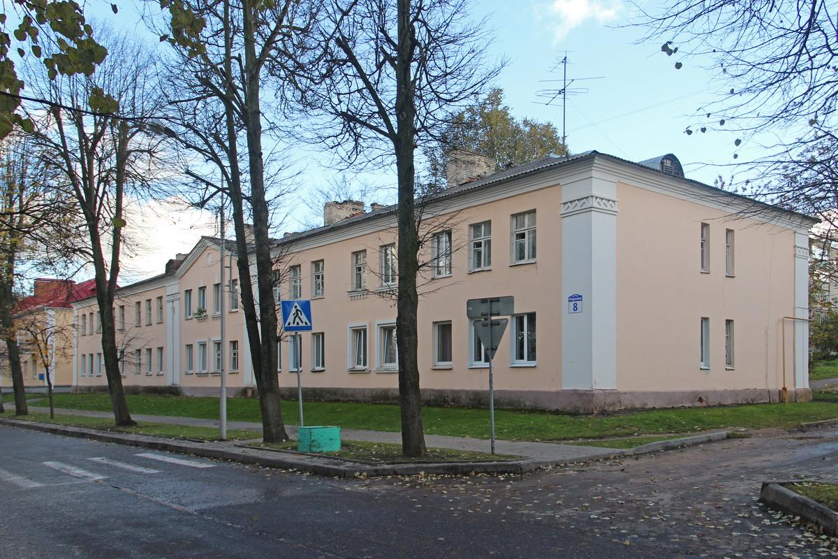 Дом №8 па вул.Машэрава