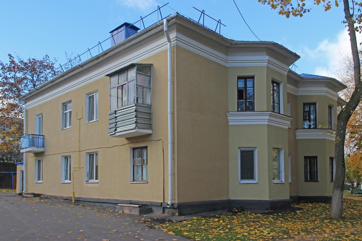 Дом з эркерамі серыі 1-211 праект №1-211-1