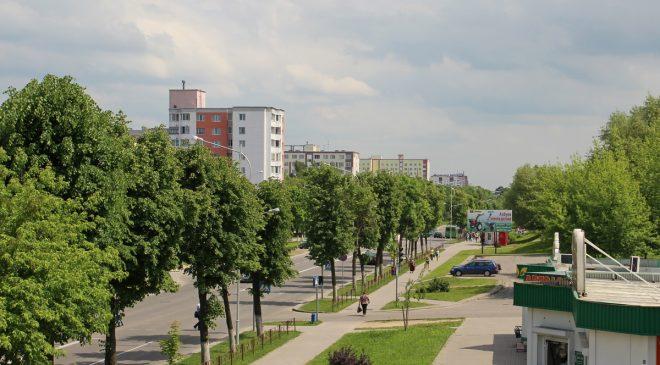 Цэнтральная вуліца Вялікі Гасцінец