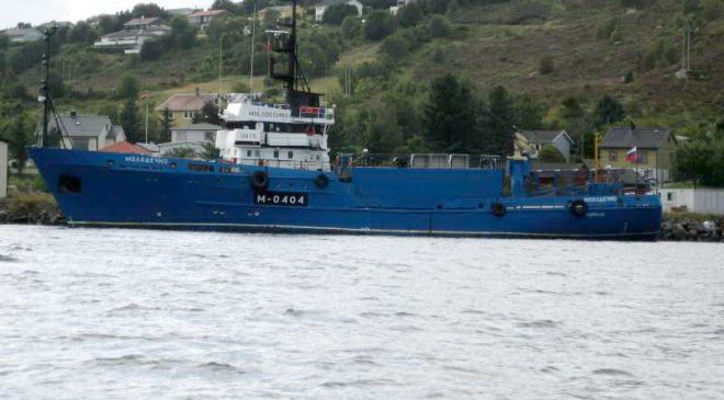 """Рыбалоўны траўлер """"Маладзечна"""" (""""Molodechno"""", IMO: 8721894)"""