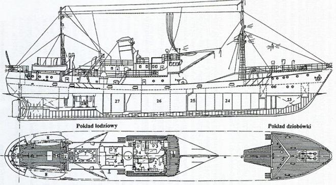 Траўлер праекта B-14 (B-14/30, IMO: 5239084)